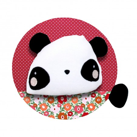 Trophée personnalisé panda en peluche