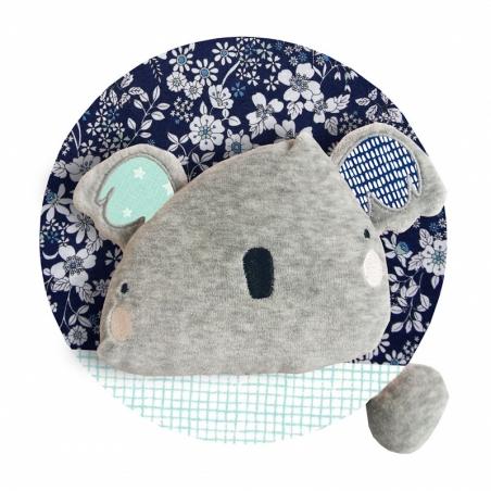 Trophée tête de koala en peluche personnalisé